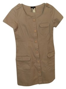 A.P.C. short dress Tan on Tradesy