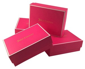 Juicy Couture Juicy couture Pink White Gold Empty Jewelry Gift Boxes