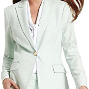 Calvin Klein Light green Blazer
