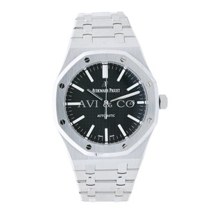 Audemars Piguet AP Audemars Piguet Royal Oak Steel Black Dial 15400ST.OO.1220ST.01