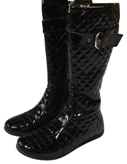 Preload https://img-static.tradesy.com/item/14918932/black-patent-leather-bootsbooties-size-us-5-regular-m-b-0-1-540-540.jpg