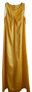 Yellow Sunshine Maxi Dress by Banana Republic Silk Maxi Sleeveless