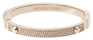 Michael Kors Michael Kors Astor Pave Hinged Bracelet with Authentic Gift Box!
