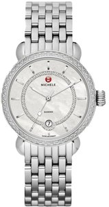 Michele NWT Michele CSX Elegance Stainless Diamond Watch MWW03T000035