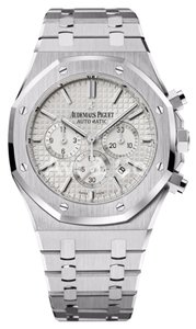 Audemars Piguet Audemars Piguet Royal Oak Chronograph 41 Steel Silvered Dial