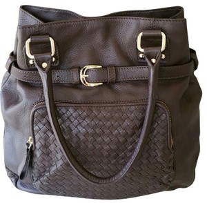 Elliott Lucca Satchel in Dark Brown