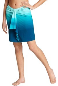 Gottex Vitamin A Tory Burch Pilly Q Becca Skye Mini Skirt teal