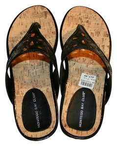 Montego Bay Club New Black Sandals