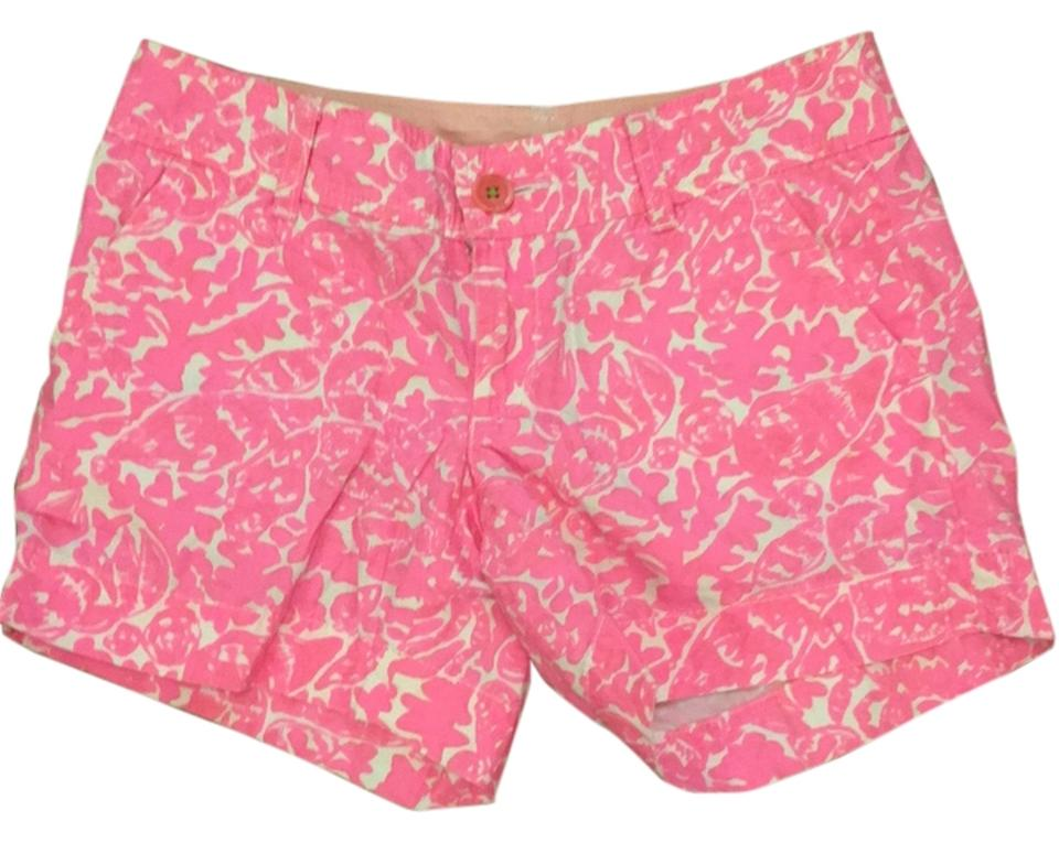 cdf7504df7437a Lilly Pulitzer Cosmo Pink Party Favors Callahan Shorts Size 00 (XXS ...
