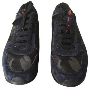 Prada Blue camo Athletic