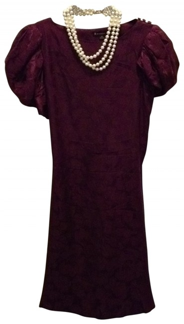 Preload https://img-static.tradesy.com/item/149208/burgundy-knee-length-cocktail-dress-size-2-xs-0-0-650-650.jpg