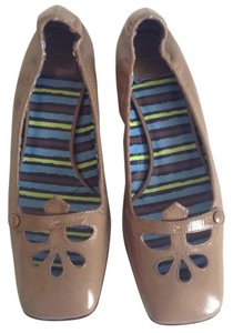 Anna Sui Olive gray Flats