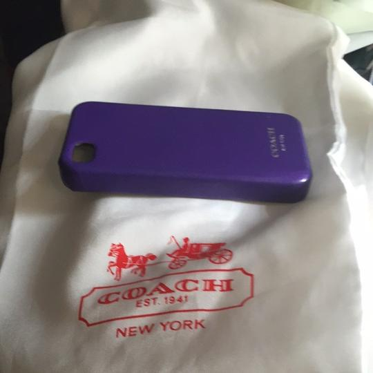 Coach iPhone 4 Leather Case