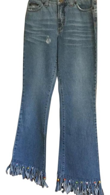 Item - Faded Blue Dc60800855015 Boot Cut Jeans Size 28 (4, S)