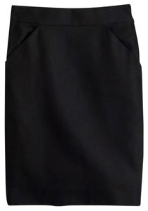 J.Crew Suiting Work Skirt Black