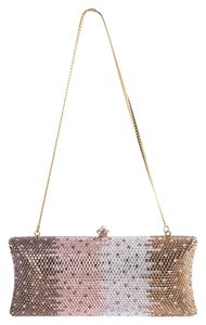 Crystal Embellished Multicolor Clutch