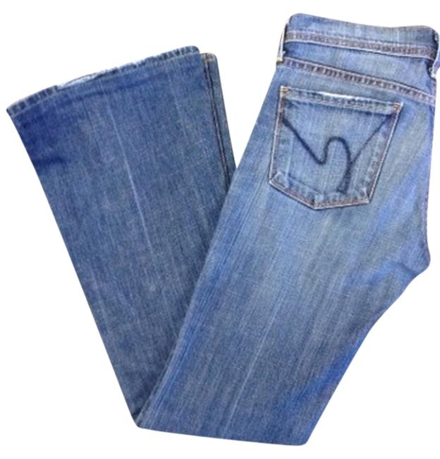 Preload https://item1.tradesy.com/images/citizens-of-humanity-medium-wash-flare-leg-jeans-size-25-2-xs-1492275-0-0.jpg?width=400&height=650