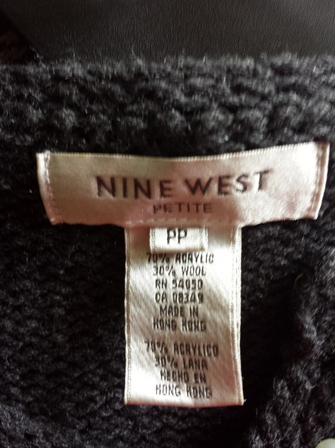 Nine West Fits Like A Small Warm And Fashionable Beaded See Photos Cuffs Beaded Cardigan
