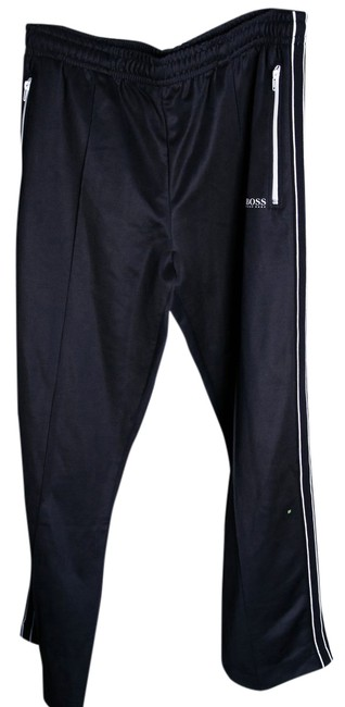 Item - Black 'horatech' | Stretch Drawstring Track By Green Xxl Activewear Bottoms Size 22 (Plus 2x)