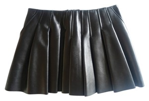 Alexander Wang A Line Mini Mini Skirt BLACK