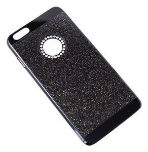 Black Bling iPhone6 Back Cover Case Hard Case Cover for Iphone 6S Plus 5.5Inch