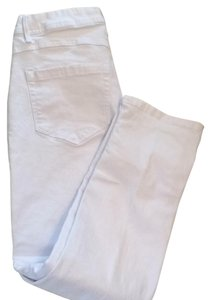 Christopher Blue Jeans Stretch Jeans Capris White