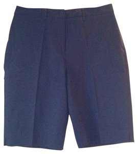 Jones New York Dress Shorts Navy Blue