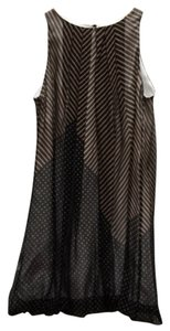 A.B.S. by Allen Schwartz short dress Black/Brown on Tradesy
