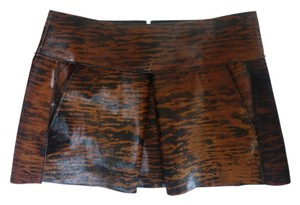 Isabel Marant Baxter Mini Skirt brown