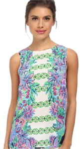 Lilly Pulitzer Top White, Green, Blue, Pink