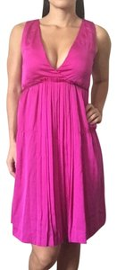 Theory short dress Magenta on Tradesy
