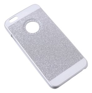 Silver Bling iPhone6 Back Cover Case Hard Case Cover for Iphone 6 4.7Inch