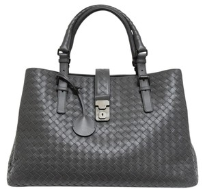 Bottega Veneta Satchel in New Gray