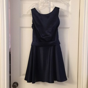 Dessy Navy Blue Dress