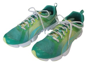 Puma Size 11.00 M Good Condition Green, Yellow Athletic