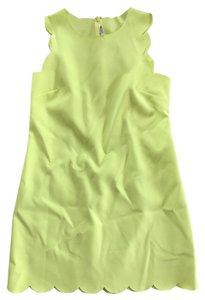 J.Crew short dress Neon yellow on Tradesy