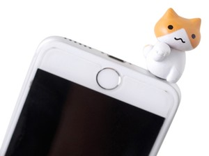 Other Paw Play Kitty Cat Novelty Earphone Jack Dust Cap Plugs