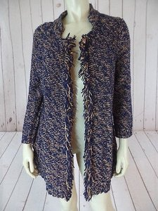 Other Sparrow Anthropologie Linen Acrylic Wool Cotton Boho Sweater