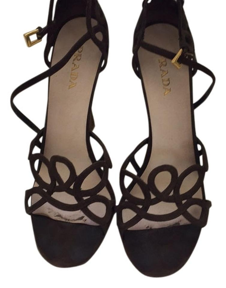 Pumps Pumps Prada Brown Brown Prada dBSTdx