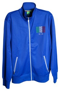 Hugo Boss Skate Flag Mens Blue Jacket