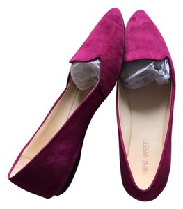 Nine West Fushia Flats