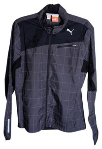Puma Mens Night Cat gray Jacket