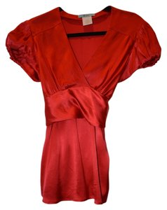 Marciano Tie Back Top Red