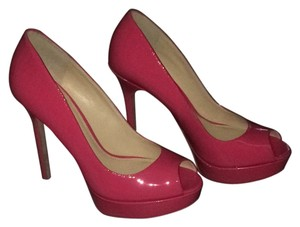 Vince Camuto hot pink Platforms