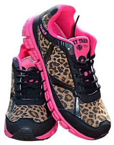 Crazy Train Leopard Pink Athletic