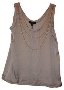Banana Republic Sleeveless Top Beige