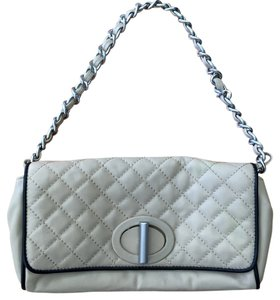 Talbots Leather Quilted Chain Dressy Shoulder Bag