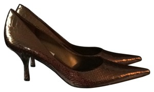 Nine West Bronze Pumps