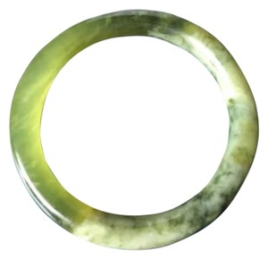 Genuine & Rare JADE natural earthy green bracelet