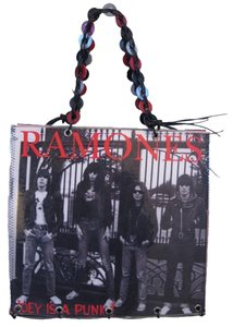 Other One Of A Kind Rocker Ramones Tote in Multi